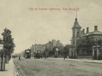City of London Infirmary, Bow Road, East London