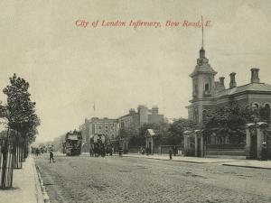 City of London Infirmary, Bow Road, East London by Peter Higginbotham