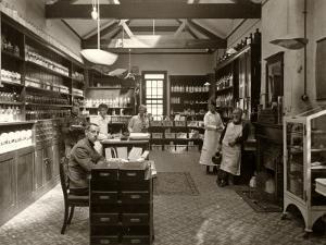 Dispensary, Napsbury War Hospital, Hertfordshire by Peter Higginbotham