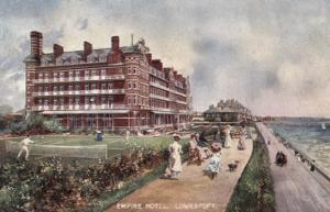 Empire Hotel, Lowestoft, Suffolk by Peter Higginbotham