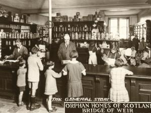General Store at Orphan Homes of Scotland, Bridge of Weir by Peter Higginbotham