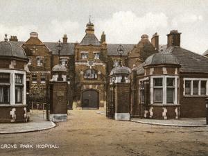 Grove Park Hospital, Lewisham, London by Peter Higginbotham