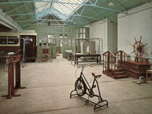 Gymnasium, Princess Mary's Hospital, Margate, Kent by Peter Higginbotham
