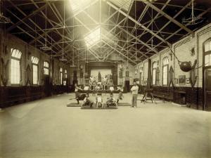 Kensington and Chelsea District School, Gymnasium by Peter Higginbotham