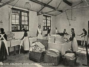 Laundry at National Children's Home, Harpenden, Herts by Peter Higginbotham