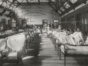 No. 2 (Battle) War Hospital, Reading, Berkshire by Peter Higginbotham