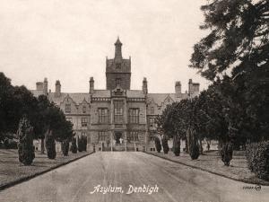 North Wales Lunatic Asylum, Denbigh, North Wales by Peter Higginbotham