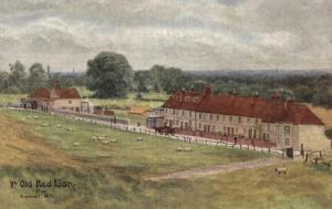 Old Red Lion Inn and Former Infant Workhouse, Barnet by Peter Higginbotham
