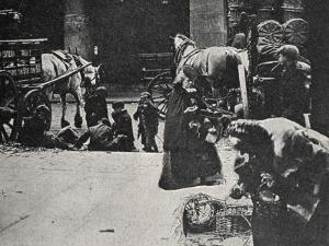 Old Women Scavenging, East End of London by Peter Higginbotham