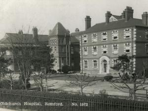 Oldchurch Hospital, Romford, Essex by Peter Higginbotham