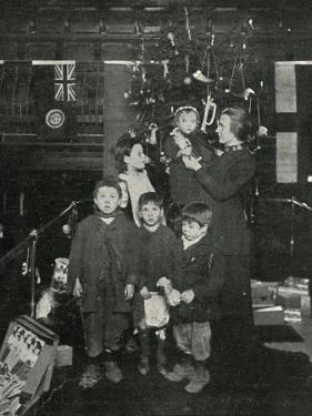 Salvation Army Christmas Treat for East End Children by Peter Higginbotham