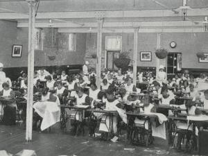 Sewing Class, Darenth Training Colony, Kent by Peter Higginbotham
