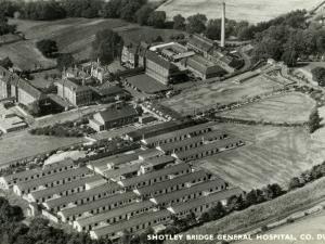 Shotley Bridge General Hospital, County Durham by Peter Higginbotham