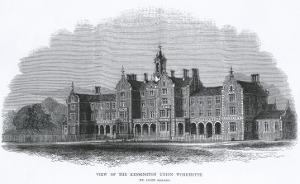 St Mary Abbots Workhouse, Marloes Road, Kensington, London by Peter Higginbotham