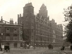 St Pancras Workhouse Infirmary, London by Peter Higginbotham