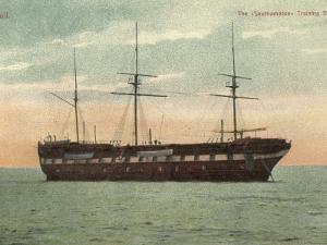 Training Ship Southampton, Hull, Yorkshire by Peter Higginbotham