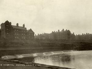 Union Workhouse Hospital, Ashton under Lyne, Lancashire by Peter Higginbotham