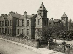 Union Workhouse Infirmary, Dewsbury, West Yorkshire by Peter Higginbotham
