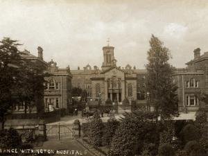 Withington Hospital, Manchester by Peter Higginbotham