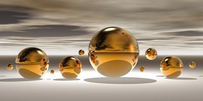 Golden Bowl II by Peter Hillert