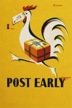 Post Early by Peter Huveneers