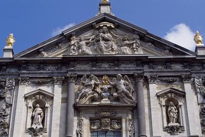 Facade of Church of St Charles Borromeo, 1615-1625