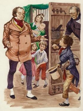 David Copperfield Meets Mr Micawber by Peter Jackson
