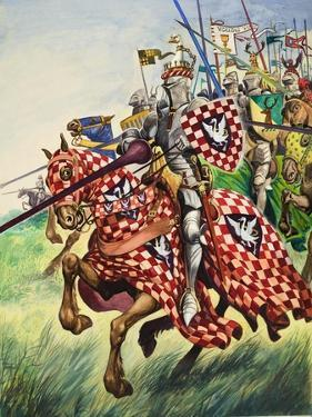 Knights Charging into Battle by Peter Jackson