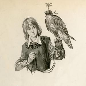 Prince Richard, the Future Richard the Lionheart, with a Hawk by Peter Jackson
