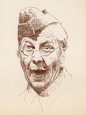 The Actor Clive Dunn as Lance Corporal Jack Jones in the BBC Television Sitcom Dad's Army by Peter Jackson