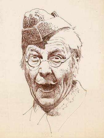 The Actor Clive Dunn as Lance Corporal Jack Jones in the BBC Television Sitcom Dad's Army