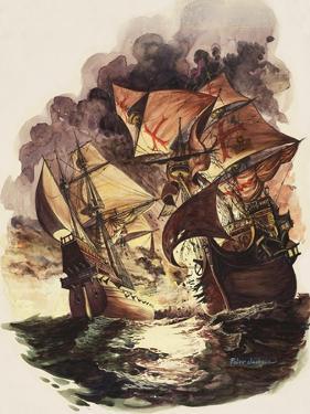 The Spanish Armada, 1588 by Peter Jackson
