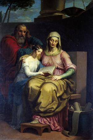 The Virgin with Saints Anne and Joachim, 1840