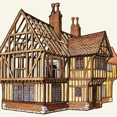 The Wonderful Story of Britain: Building a Tudor House