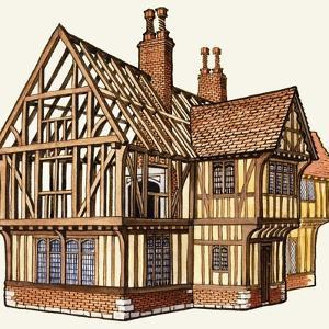 The Wonderful Story of Britain: Building a Tudor House by Peter Jackson