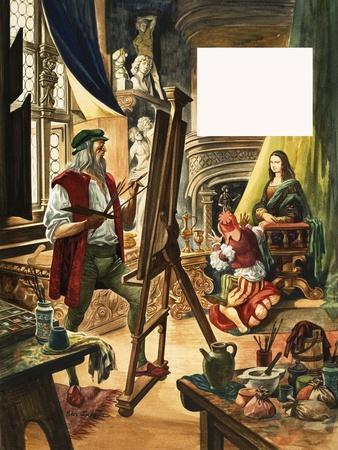 When They Were Young: Leonardo Da Vinci