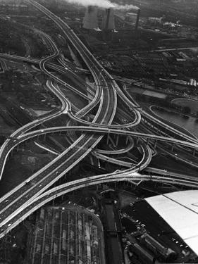 Road Interchange by Peter King