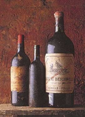 Chateau Neychevelle, 1990 by Peter Knaup