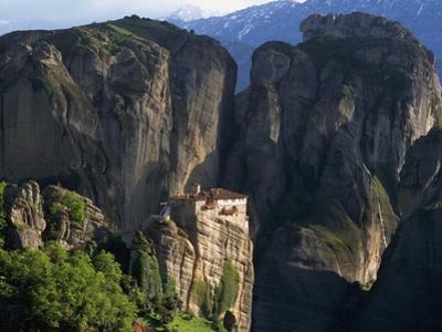 Rousanou Monastery by Peter M. Wilson