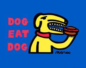 Dog Eat Dog Original by Peter Marco