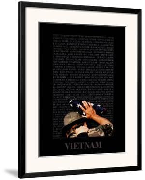 Vietnam Memory Wall by Peter Marlow