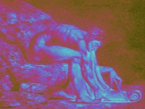 Geometrist: Isaac Newton...Pix-Elated, 2014 by Peter McClure