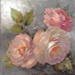 Roses on Gray II Crop by Peter McGowan