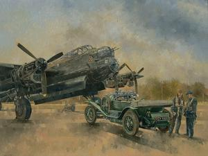 A Lancaster and a Bentley, 2000 by Peter Miller