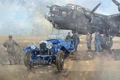 Able Mable and the Blue Lagonda