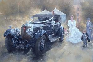 Bentley and Bride by Peter Miller