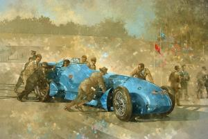 Bluebird, 1928 by Peter Miller