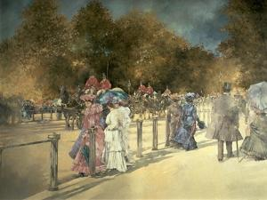 Summer in Hyde Park by Peter Miller