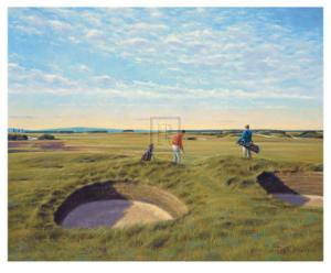 St. Andrews 10th - Bobby Jones by Peter Munro