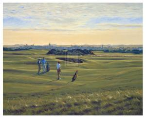 St. Andrews 12th - Heathery (In) by Peter Munro